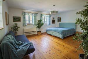 Unterkunft Landhaus Pössnitz Südsteirische Weinstrasse Schlafzimmer