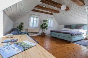 Ferienhaus Landhaus Pössnitz Südsteiermark Schlafzimmer